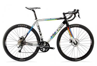gravel bike cinelli 2018 zydeco shimano tiagra 10v noir argent multicolor s 154 168 cm