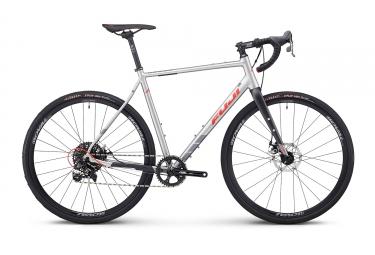 Gravel bike fuji 2018 jari 1 5 sram apex 11v argent rouge 54 cm 168 180 cm