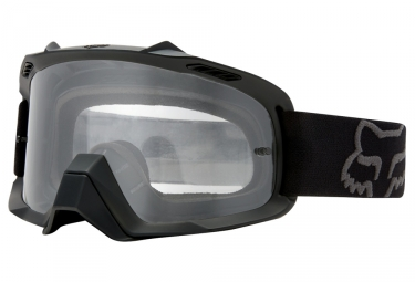 masque fox air space noir ecran clear