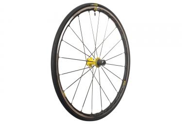 mavic 2018 roue arriere ksyrium elite ust m 25 jaune shimano sram patins 9 x 130 mm