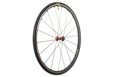 Mavic 2018 roue avant ksyrium elite ust rouge patins 9 x100 mm