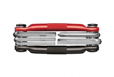 Multi-Outils Crankbrothers M5 Noir Rouge