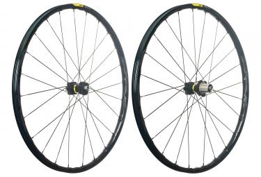 mavic 2018 paire de roues xa elite 29 noir shimano sram 6 trous 15 x 100 12 x 142 mm