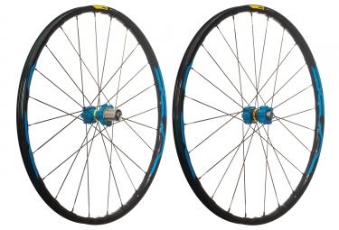 mavic 2018 paire de roues xa elite 27 5 bleu shimano sram 6 trous boost 15 x 110 12 x 148 mm