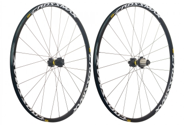 mavic 2018 paire de roues crossmax light 29 shimano sram 6 trous 15 x 100 12 x 142 mm