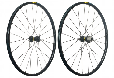 mavic 2018 paire de roues e xa elite 29 xd 6 trous boost 15 x 110 12 x 148 mm