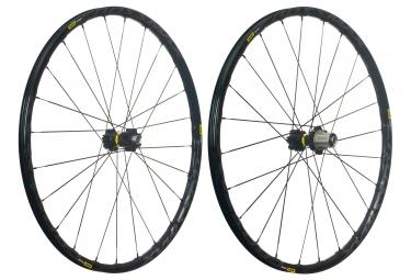 mavic 2018 paire de roues crossmax elite 27 5 noir xd 6 trous boost 15 x 110 12 x 148 mm