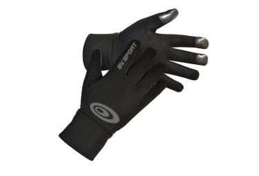 Image of Gants tactiles bv sport noir s