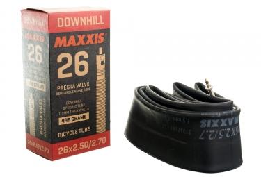 chambre a air maxxis downhill 26 presta rvc 2 50 2 70