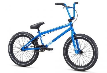 bmx freestyle mongoose l100 21 bleu 2017