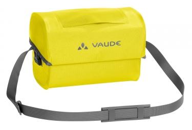 sacoche de guidon vaude aqua box jaune