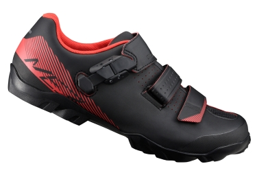 chaussures shimano mountain enduro me3 noir rouge 40