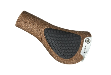Ergon GC1 BioKork Grips Brown Black