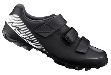 chaussures shimano mountain enduro me2 noir blanc 44