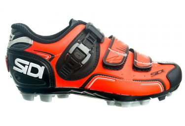 chaussures vtt sidi buvel orange noir 38