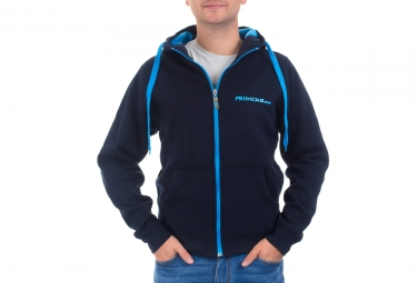 Sweat a capuche alltricks staff bleu s