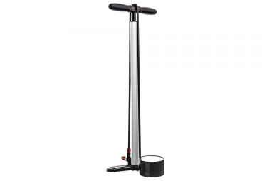 Lezyne pompe a pied classic floor drive blanc