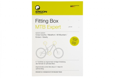 Outil de positionnement velo ergon fitting box mtb expert