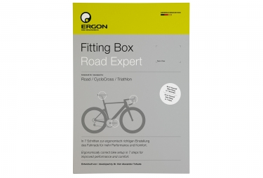 Outil de positionnement velo ergon fitting box road expert