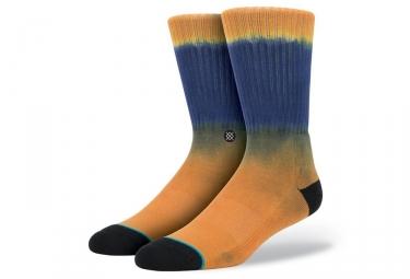 chaussettes stance tucker orange bleu 38 42