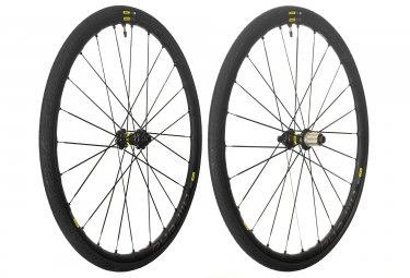 Mavic 2018 paire de roues allroad elite ust disc m 30 shimano sram center lock 12 x