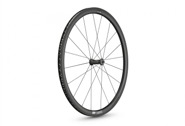 roue avant dt swiss 2018 prc 1400 spline carbone 35mm pneu