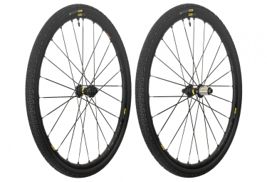 mavic 2018 paire de roues allroad elite ust disc m 40 shimano sram center lock 12 x