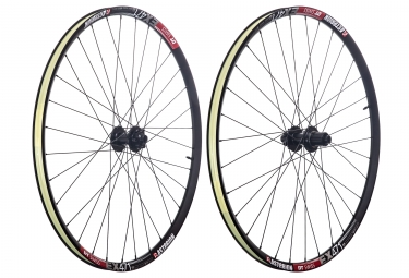 asterion paire de roues enduro dt ex471 mp2 29 shimano sram 6 trous 15 x 100 12 x 142 mm