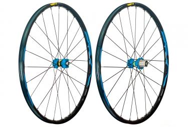 mavic 2018 paire de roues xa elite 29 bleu xd 6 trous 15 x 100 12 x 142 mm