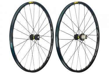 mavic 2018 paire de roues xa elite 27 5 noir xd 6 trous boost 15 x 110 12 x 148 mm