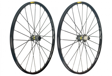 mavic 2018 paire de roues xa pro 29 shimano sram 6 trous 15 x 100 12 x 142 mm