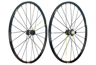 mavic 2018 paire de roues crossmax pro 29 shimano sram 6 trous 15 x 100 12 x 142 mm