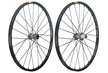 mavic 2018 paire de roues xa pro 27 5 shimano sram 6 trous boost 15 x 110 12 x 148 mm