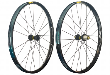 mavic 2018 paire de roues xa elite 27 5 xd 6 trous boost 15 x 110 12 x 148 mm