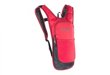sac a dos evoc cross country cc 2l poche a eau 2l rouge 2