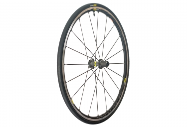 mavic 2018 roue arriere ksyrium elite ust m 25 noir shimano sram patins 9 x 130 mm
