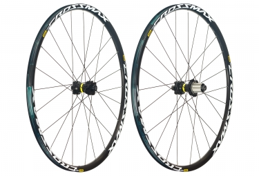 mavic 2018 paire de roues crossmax light 27 5 shimano sram 6 trous boost 15 x 110 12 x 148 mm