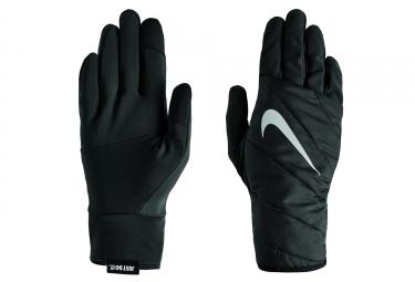 Paire de Gants Nike Quilted Run Gloves Noir