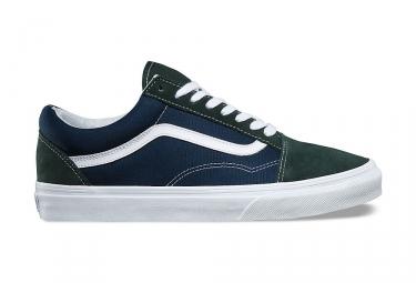 Chaussures vans old skool 2 tone bleu vert 42
