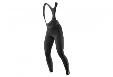 cuissard long femme mavic sequence thermo noir m