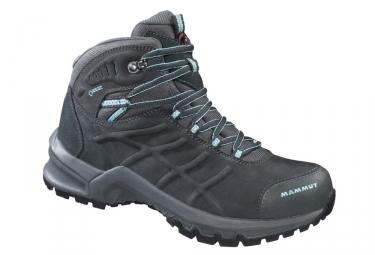 Chaussures de randonnee femme mammut nova mid ii gtx gris bleu 38