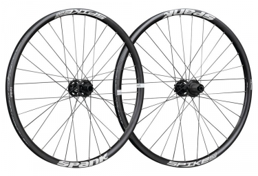 SPANK Wheelset SPIKE SPIKE RACE28 BEAD 27.5'' Front 20x110mm | Rear 12x135mm Black