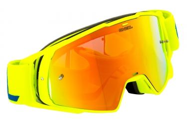 masque oneal b 20 jaune fluo ecran jaune
