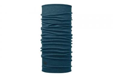 tour de cou buff midweight merino bleu