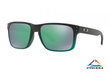 lunettes oakley holbrook noir vert prizm jade ref oo9102 e455