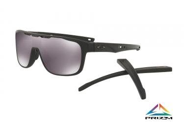 lunettes oakley crossrange shield noir prizm black ref oo9387 0231