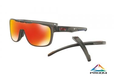 lunettes oakley crossrange shield gris prizm ruby ref oo9387 0431