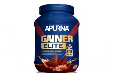 boisson proteinee apurna gainer elite chocolat 1100g