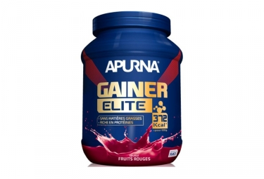 boisson proteinee apurna gainer elite fruits rouge 1100g