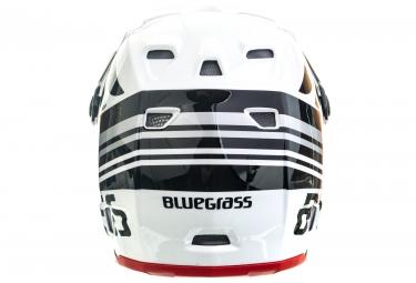 Casque Intégral Bluegrass Brave Blanc Rouge